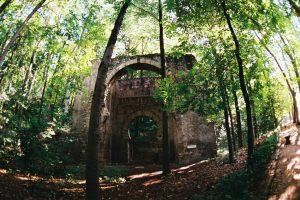 Bosque de la Alhambra - Arco de las Orejas o Puerta de Bib-Rambla