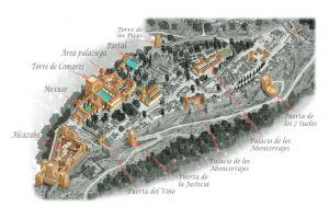 La Alhambra - Plano