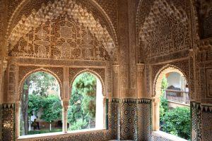 Palacios Nazaries - Mirador de mirador de Daraxa o Lindaraja